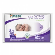Himalaya Soothing Baby Wipes for Sensitive Skin - Lavender & Indian Aloe