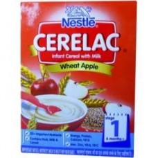 Nestle Cerelac - Wheat Apple (Stage 1)