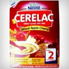 Nestle Cerelac - Wheat Apple Cherry (Stage 2)