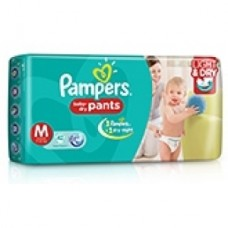 Pampers Baby Dry Pants - Medium (7-12Kgs)