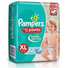 Pampers Baby Dry Pants - Xtra Large (12+Kgs)