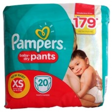 Pampers Baby Dry Pants XS Upto 5Kg