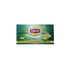 Lipton Green Tea Bags - Lemon Zest