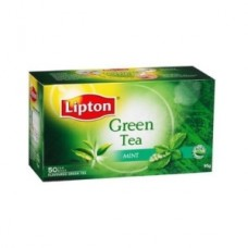 Lipton Green Tea Bags - Mint Burst