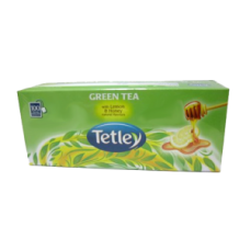 Tetley Green Tea - Lemon and Honey Tea Bags