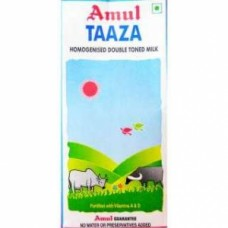 Amul Taaza - Toned Milk (Tetra Pack)
