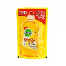 Dettol Healthy Kitchen Dish & Slab Gel Lemon Fresh Pouch
