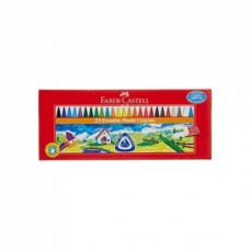 Faber-Castell  25 Erasable Plastic Crayons
