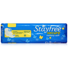 Stayfree Secure cottony soft - Regular with Wings